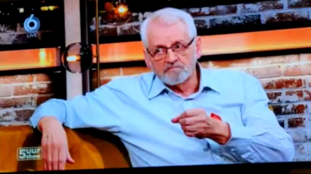 Wim van Dijk in de 5 uur Show SBS6
